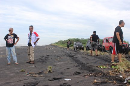 Jogja International Air Show 2017, Moment Asyik Offroad di Gumuk Pasir