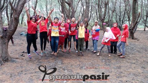 outbound ibu dan anak pkk sleman